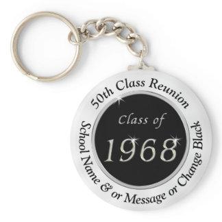 Class of 1968, Cheap 50th Class Reunion Keychains