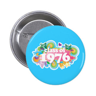 Class of 1976 pinback button
