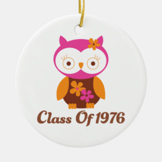 Class of 1976 Reunion Christmas Tree Ornaments