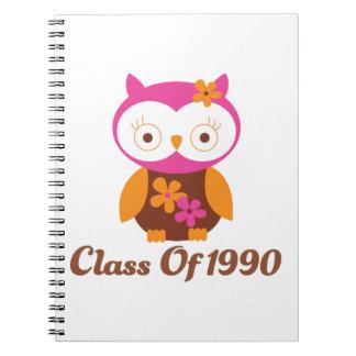 Class of 1980 Reunion Spiral Note Book