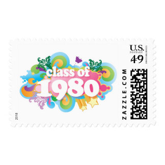 Class of 1980 stamp