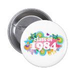 Class of 1984 buttons