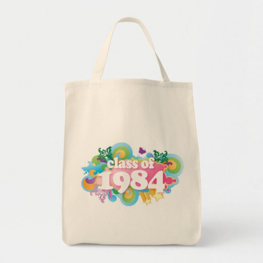 Class of 1984 canvas bags