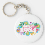 Class of 1984 key chains