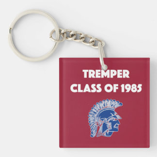 Class of 1985 Key chain- personalize the back! Keychain