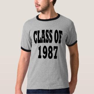 Class of 1987 shirt