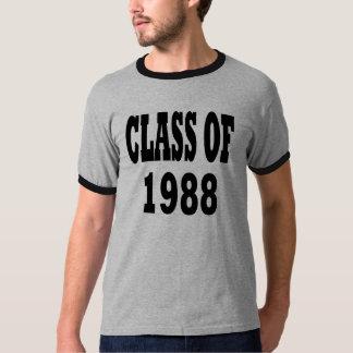 Class of 1988 tee shirt