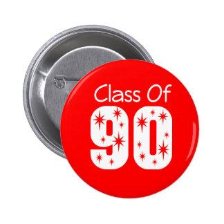 Class of 1990 Button