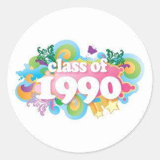 Class of 1990 sticker