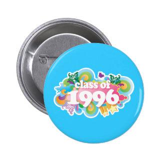 Class of 1996 pinback buttons