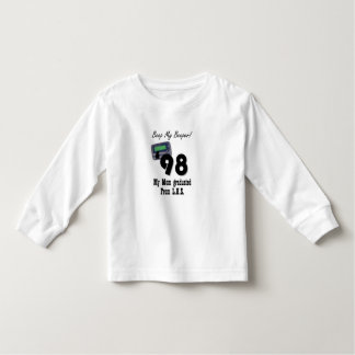 Class of 1998 toddler t-shirt