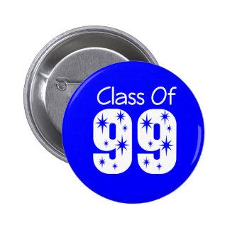Class of 1999 Button