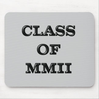 Class of 2002 mouse pad