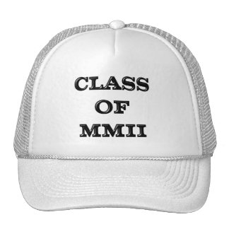 Class of 2002 trucker hat