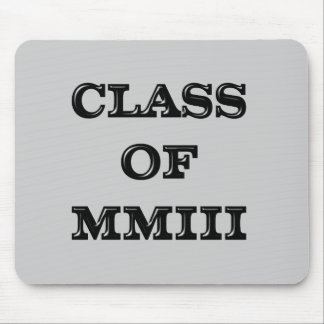 Class of 2003 mouse pad