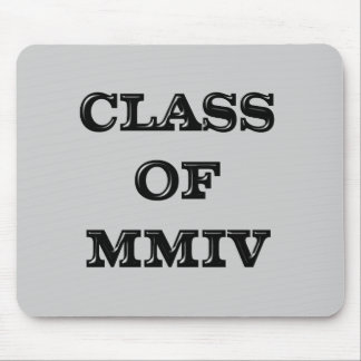 Class of 2004 mouse pad