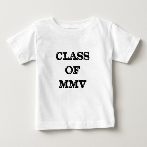 Class of 2005 baby T-Shirt