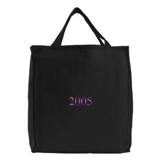 Class Of 2005 Embroidered Tote Bag