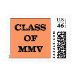 Class of 2005 postage stamps