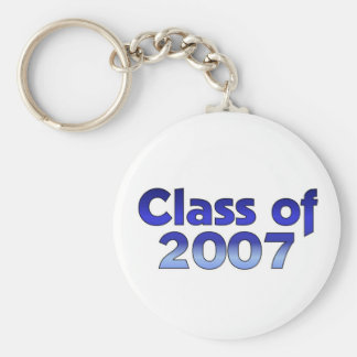 Class of 2007 Blue & White Keychain