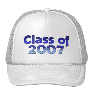 Class of 2007 Blue & White Trucker Hat