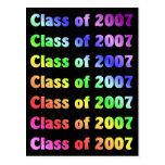 Class of 2007 postcards