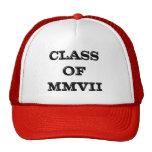 Class of 2007 trucker hat