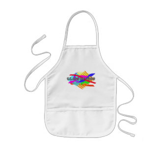 Class Of 2008 Abstract Kids Apron