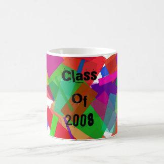 Class Of 2008 Confetti Mug