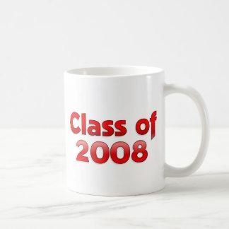 Class of 2008 - Red Mug