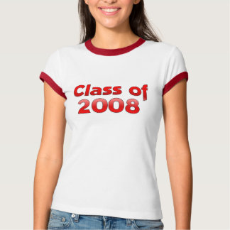 Class of 2008 - Red T-Shirt