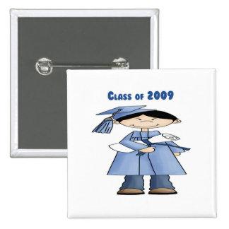 Class of 2009 boy pinback button