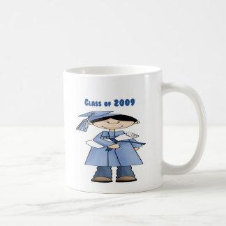 Class of 2009 boy classic white coffee mug