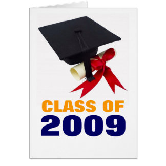 Class of 2009 card