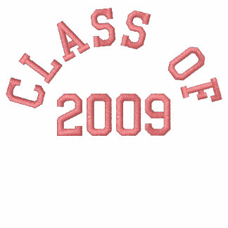 Class Of 2009 Embroideried Shirt
