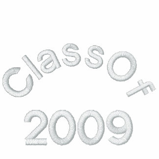 Class Of  2009 Embroideried Shirt Polo Shirt