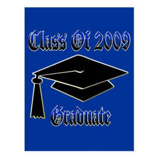 Class Of 2009 Graduate Postcard