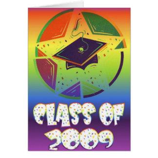 Class Of 2009 Graduation Card
