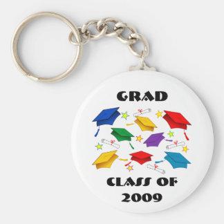 Class of 2009 Graduation Celebration Basic Round Button Keychain