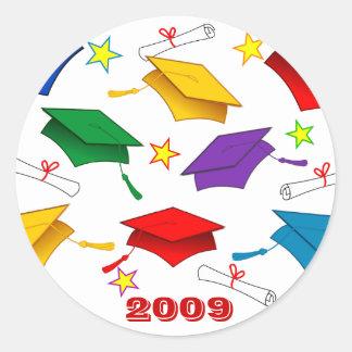 Class of 2009 Graduation Classic Round Sticker
