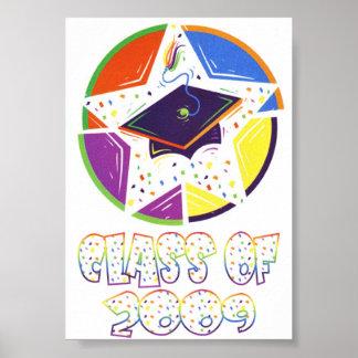Class Of 2009 Graduation Poster