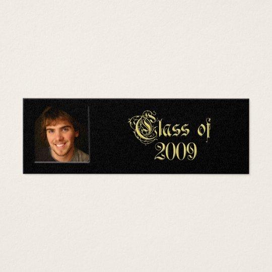 Class of 2009 Graduation Senior Cards