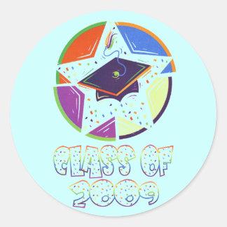 Class Of 2009 Graduation Sticker