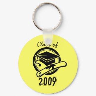 Class of 2009 Keychain (Yellow) keychain