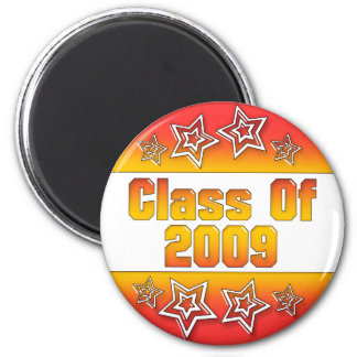 Class of 2009 2 inch round magnet