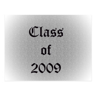 Class of 2009 Old English Postcard