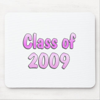 Class of 2009 Pink Mouse Pad
