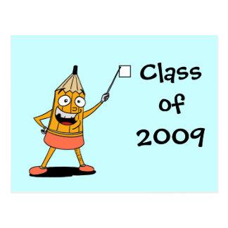 Class of 2009 postcard