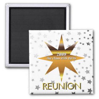 Class of 2009 Reunion Stars Magnet