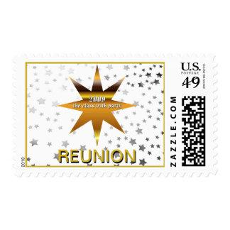 Class of 2009 Reunion Stars Postage Stamp